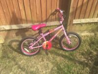 Kids bikes for sale one Spider-Man boys bike and one girls Apollo BMX , both in good used condition