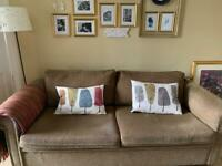 Chenille sofa couch sofabed