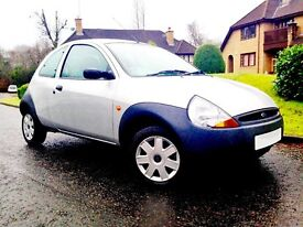 Extremely Low Mileage. A Great Price. MOT 11 Month. Impressive Ford KA.