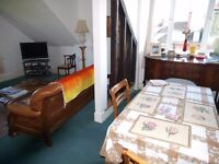 Comfortable top floor room in apartment Eastbourne