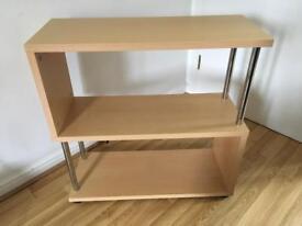 Bookcase / Bookshelf in Beech Effect Wood