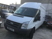 Ford transit 115 t350L RWD LWB HIGH TOP 2010 white NEW CLUTCH AND FLYWHEEL 2 OWNERS LIGHT USE