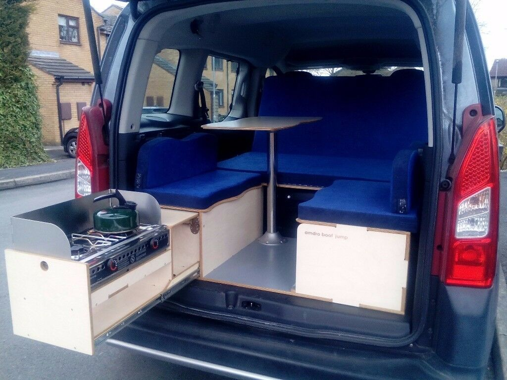 Amdro boot jump removable camper van conversion kit turn citroen berlingo  car into campervan | in Rawdon, West Yorkshire | Gumtree