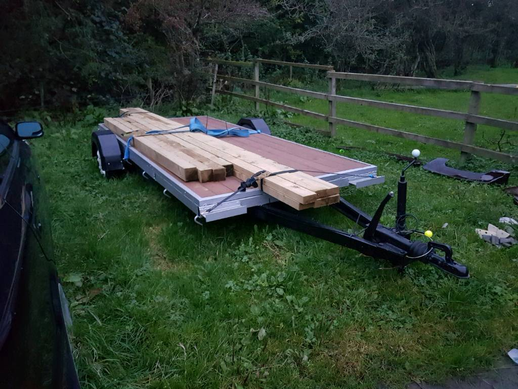 12 x 5 Flat Bed Trailer