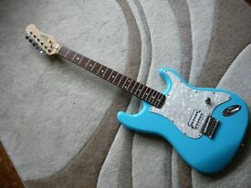 STAGG Tom Delonge style Electric Guitar Stratocaster