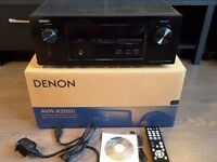 Denon X2000 7.1 Channel, 3D, 4K Upscaling Mint Condition Boxed