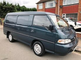 Hyundai H100 2.5 TD DLX Panel Van 3dr £799 starts and drives 2000 (X reg), Panel Van