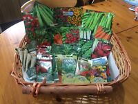 Vegetable & Flower seeds.