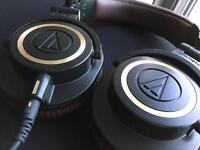 Audio Technica ATH-M50X LIMITED EDITION studio monitor gaming headphones