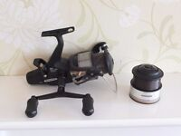 Shimano ST6000-RA Baitrunner and spare spool
