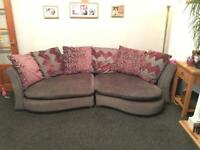 Elise Chaise Sofa & scatter cushions
