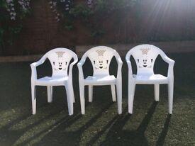 Disney children's plastic chairs