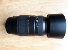 Tamron tele-macro camera lens