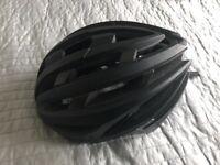 Bicycle helmet men's one size Evans black