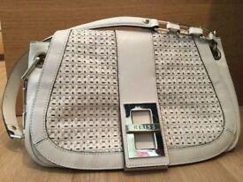 Reiss Real Leather Shoulder Bag