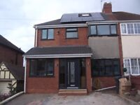 GREAT BARR AREA. FIVE BED SEMI. REFURBISHED. MODERN. EXTENDED. PARKING. GOOD LOCATION. £285,000