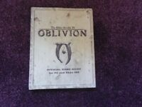 Book The Elder Series Scrolls IV Oblivion, Official Game Guide for PC and Xbox 360
