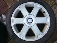 Audi S3 17 Inch Alloy Wheels With New Eagle F1s and good Pirelli Tyres In Great Condition Ronal Avus