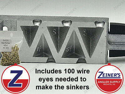 "100-1oz  LEAD EGG SINKERS  /""FREE SHIPPING/"""