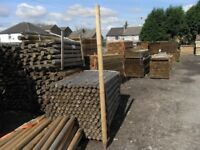 Timber fence post 75mmx2.4m