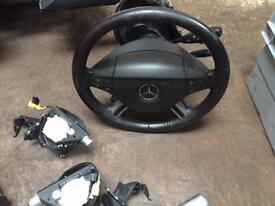 Mercedes ml w164 steering wheel with airbag