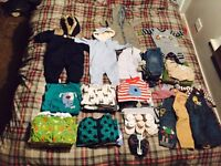 Baby boy clothes bundle size 0-3 months, immaculate condition