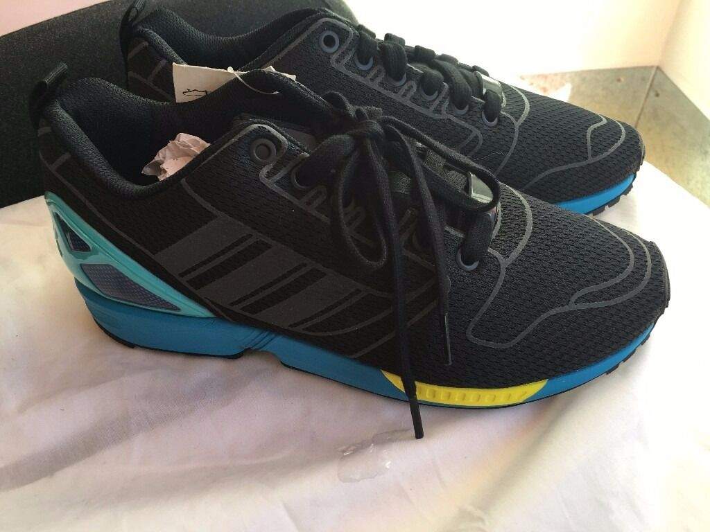 "ADIDAS ZX FLUX ""COMMUTER"" LIMITED EDITION AUTHENTIC DEADSTOCK UK 11"