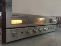 Vintage Toshiba Stereo Receiver/amplifier SA-220L