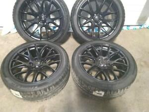 "19"" WINTER PACKAGE,5X120X8.5(TESLA,BMW X3,6and 7series) ALLOY WITH TPMS AND #45/45R19 PIRELI SOTOZERO USED FOR SALE"