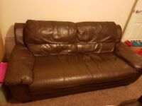 3 seat leather sofa for sale