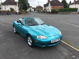 Mazda MX5 12 Month MOT FSH lots of paperwork Convertible