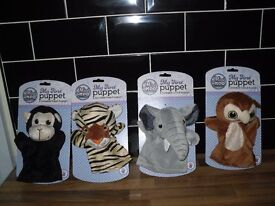 HAND PUPPETS MIRI MOO MY FIRST PUPPETS NEW 4 DIFFERENT £2 EACH