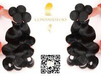 Conhairseurs -100% virgin human hair extensions 8a grade ,brazilian , perivian, malaysian. frontals