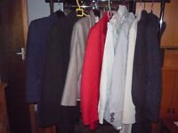 LARGE SELECTION TOPS and other clothes,,, SIZE 10-12,