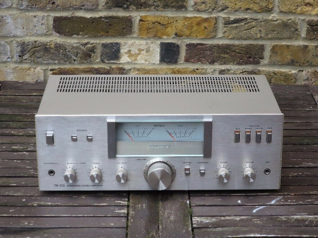 Sony TA-313 Stereo Integrated Amplifier Vintage Hifi | in Lewisham, London  | Gumtree