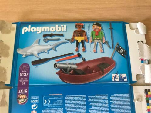 Playmobil 5137 piratenboot met kanon