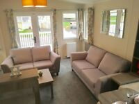 2 bedroom caravan with wrap around decking on 12 month Highfield Grange Clacton on sea