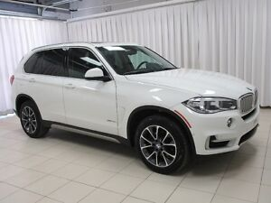 2018 BMW X5 35i X-DRIVE AWD w/ HEAD UP DISPLAY, PANO ROOF, HEA