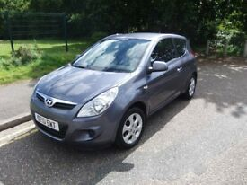 2010 Hyundai i20 1.4 diesel , FSH, Only £30 pa road tax,67 mpg Great to drive