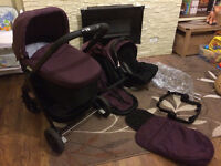 GRACO EVO TRAVEL SYSTEM - Carrycot, Pushchair, Car seat
