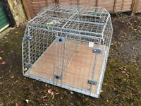 Large MMG Car Double Dog Crate