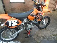 KTM 125 SX 2006 LOTS OF EXTRAS