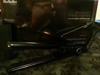 New Babyliss diamond hair straighteners
