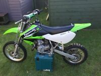 Kawasaki kx 65 ktm 65 immaculate condition