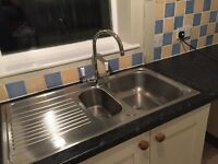 Kitchen sink and mixer tap