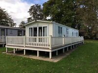 Static caravan available at Hoburne Bashley in the New Forest, Hampshire and near Christchurch
