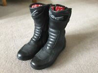 Ladies RST leather motorbike boots size 5-6