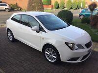 Seat Ibiza Toca Sport, 15Plate, Sat Nav, Bluetooth, Low Mileage