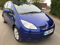 2008 MITSUBISHI COLT DIESEL, AUTOMATIC, 5 DOOR, LONG MOT
