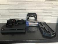 PS4 500gb with 5games